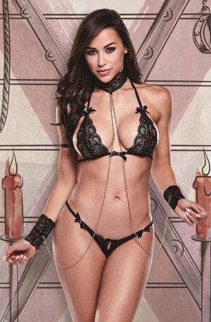 Baci Lingerie 3-Piece Bikini Set - Sexiga underkläder 1