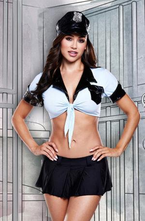 Baci Lingerie 4-Piece Police Uniform - Polis uniform 1