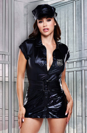 Baci Lingerie Dirty Cop Set - Polis uniform 1