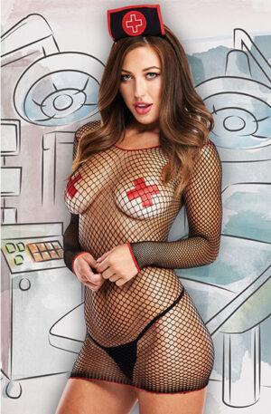 Baci Lingerie Sexy Icu Nurse 4-Set - Sexiga kläder 1