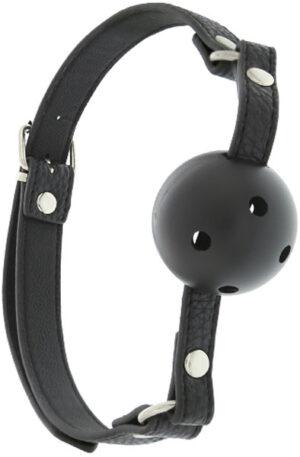 Blaze Breathable Ball Gag Black - Gagball 1