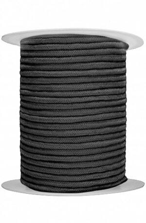 Bondage Rope 100 m Black - Shibari rep 1