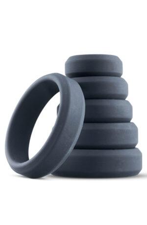 Boners 6-Piece Cock Ring Set - Penisringar paket 1