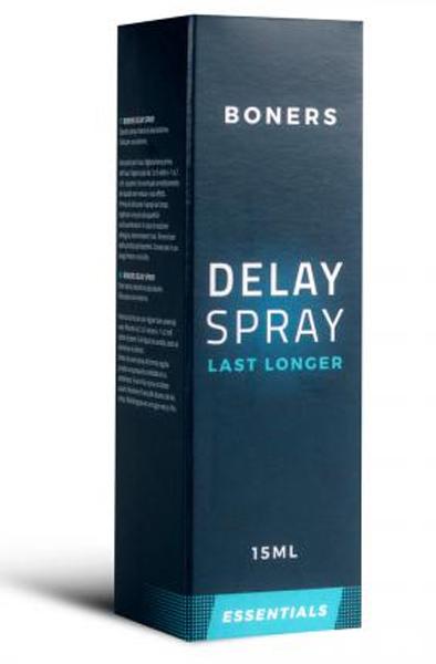 Boners Delay Spray 15ml - Uthållighetshöjande spray 2