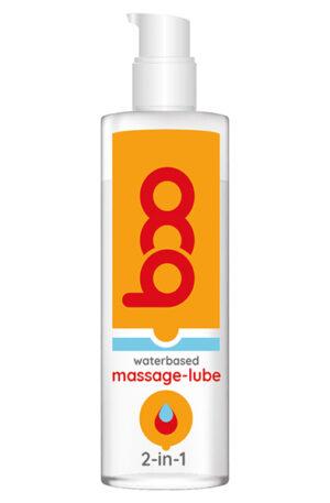 BOO 2-in-1 Massage-lube 150ml - Glidmedel & Massagelotion 1