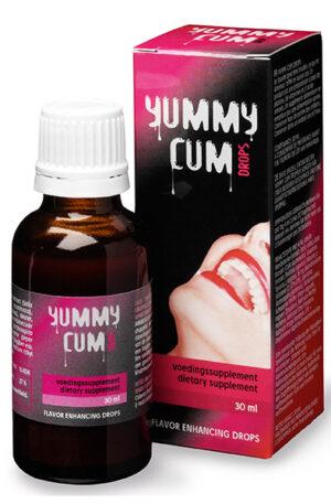 Cobeco Yummy Cum Drops 30ml - Spermiefrämjande tillskott 1