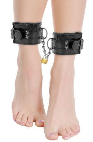 Darkness Ankle Cuffs Black - Fotbojor 1
