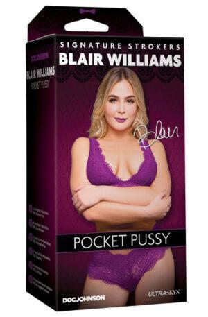 Doc Johnson Blair Williams Pocket Pussy - Lösvagina 1