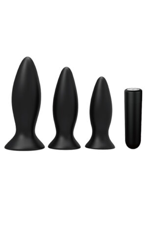 Dream Toys Booty Cone Training Set - Analpluggar paket 1