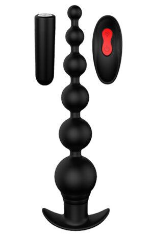 Dream Toys Cheeky Love Remote Graduating Beads - Fjärrstyrda analkulor 1