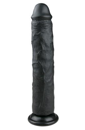 Easytoys Realistic Dildo Black 28,5cm - XL dildo 1