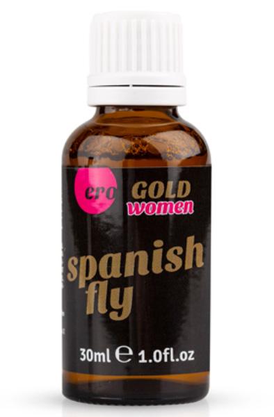 Ero Spanish Fly Women Gold Strong 30ml - Lusthöjande för henne 1