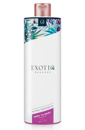 Exotiq Body To Body Warming Massage Oil 500ml - Massageolja 1