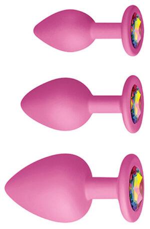 Glams Spades Trainer Kit Pink - Analpluggar paket 1