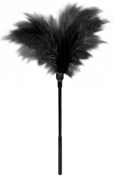 Guilty Pleasure Small Feather Tickler Black - Fjäder tickler 1