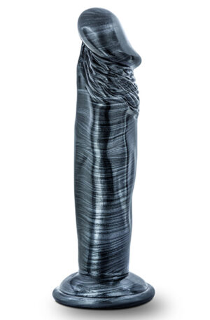 Jet Ebony Dildo Carbon Metallic Black 16,5cm - Dildo 1