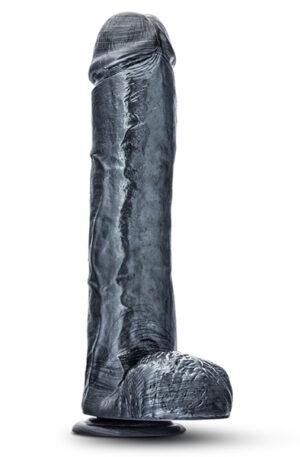 Jet Onyx Carbon Metallic Anal Dildo 29cm - Analdildo 1