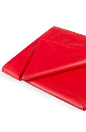Joydivision Vinyl Bedsheet Red 180 x 260 cm - Vinyl lakan 1