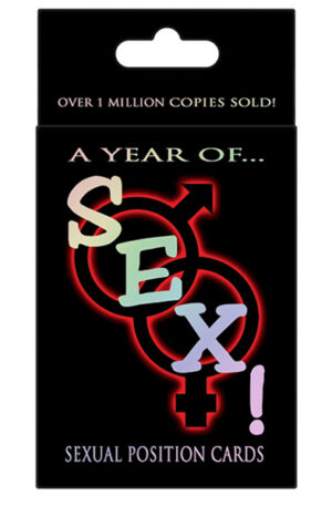 Kheper Games A Year Of Sex! Sexual Position Cards - Sexspel 1