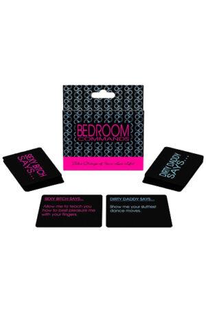 Kheper Games Bedroom Commands Card Game - Sexspel 1