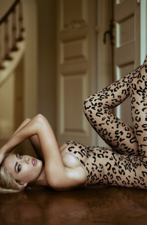 Leg Avenue Leopard Bodystocking - Sexiga kläder 1