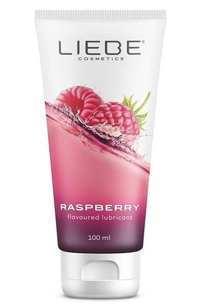Liebe Lubricant Raspberry - Glidmedel med hallonsmak 1