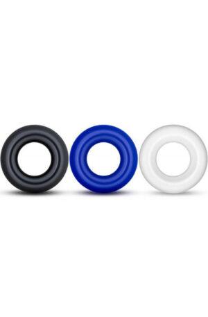Lovetoy X-Basic Donut Rings 3-pack - Penisringar paket 1