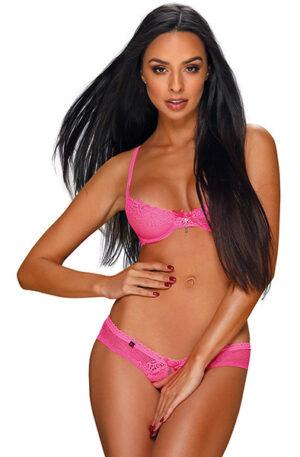 Obsessive Alabastra 2-pcs Set Pink - Sexiga underkläder 1