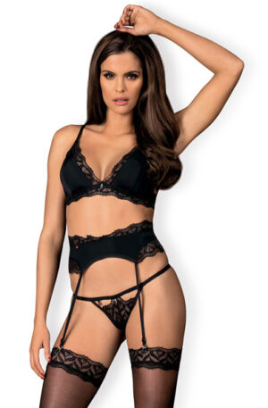 Obsessive Arisha 3-pcs Set - Sexiga underkläder 1