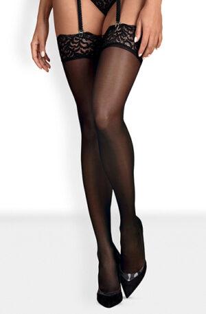 Obsessive Laluna Stockings Black - Stay-ups 1