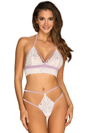 Obsessive Lilyanne 2-pcs Set White - Sexiga underkläder 1