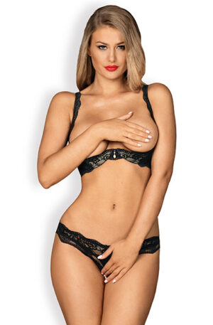Obsessive Luvae Cupless Set - Sexiga underkläder 1