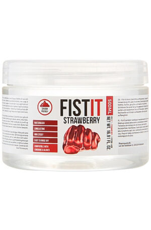 Pharmquests Fist It Strawberry Extra Thick 500ml - Glidmedel anal/fisting 1