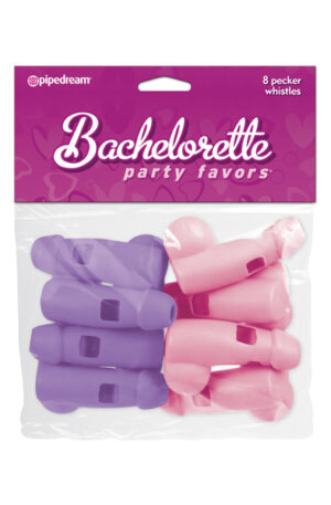 Pipedream Bachelorette Pecker Whistles Pink & Purple - Visselpipa 1