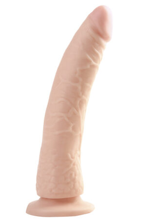 Pipedream Basix Rubber Works Slim with Suction Cup 20cm - Dildo 1