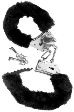 Pipedream Beginner's Furry Cuffs - Handbojor med fluff 1