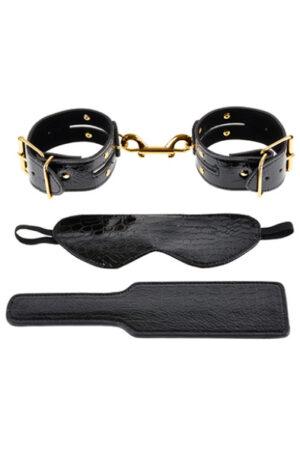 Pipedream Fantasy Bondage Kit Gold/Black - Exklusivt bondage paket 1
