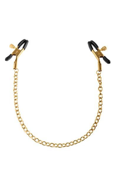 Pipedream Fetish Fantasy Gold Chain Nipple Clamps - Bröstklämmor med kedja 1