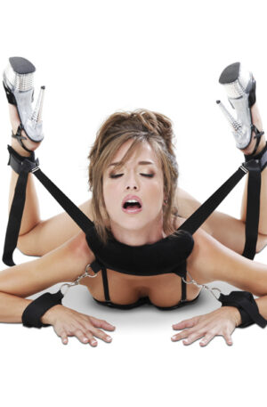 Pipedream Fetish Fantasy Position Master With Cuffs - Positionshållare 1