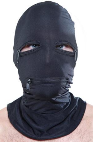 Pipedream Zipper Face Hood - BDSM mask 1