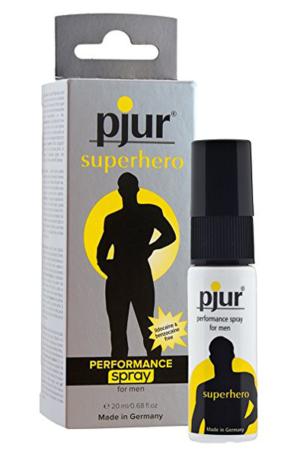 Pjur Superhero Performance Spray 20ml - Uthållighetshöjande spray 1