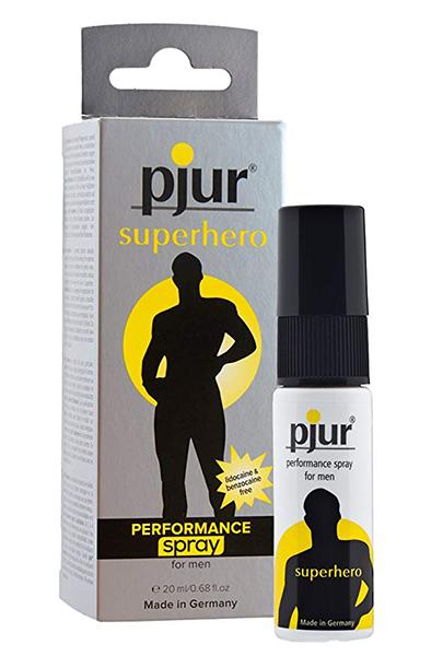 Pjur Superhero Performance Spray Strong 20ml - Uthållighetshöjande spray 1