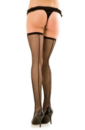 Rene Rofe Fishnet Thigh High With Backseam - Sexiga underkläder 1