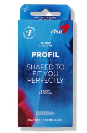 RFSU Profil Kondomer 60st - Storpack - Storpack kondomer 1