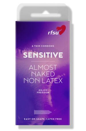 RFSU So Sensitive 6st - Tunna kondomer 1
