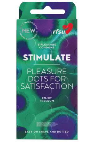 RFSU Stimulate 8 st - Kondomer 1