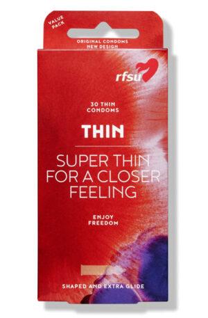 RFSU Thin kondomer 30st - Tunna kondomer 1