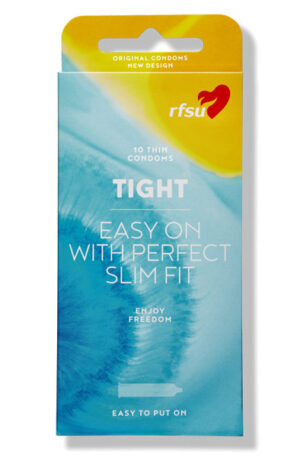 RFSU Tight Kondomer 10st - Tighta kondomer 1