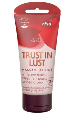 RFSU Trust In Lust 75 ml - Glidmedel & Massagelotion 1