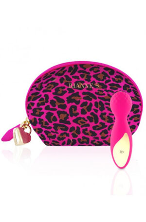 RIANNE S Lovely Leopard Mini Pink - Magicwand / Massagewand 1